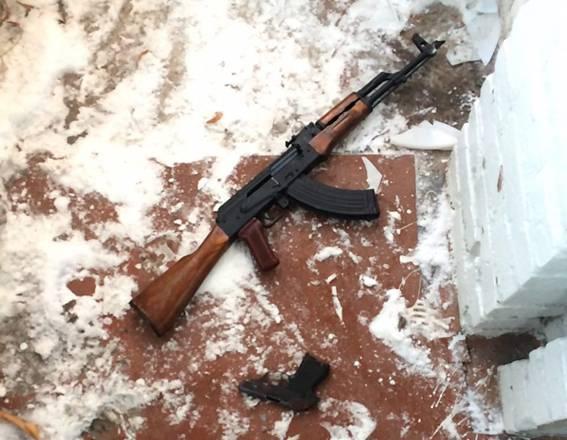 Вилучена у Капканова зброя