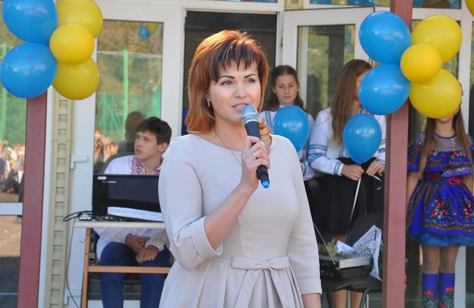 Директор школи № 3 Леся Марталішвілі