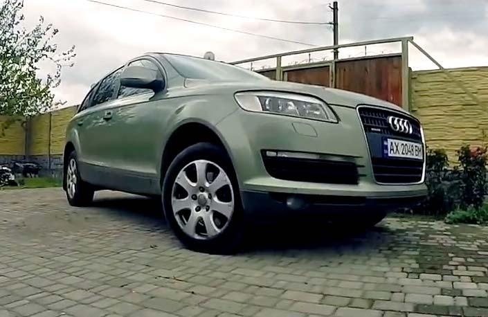 Audi Q7 | Кадр з короткометражки Олександр Онопченка
