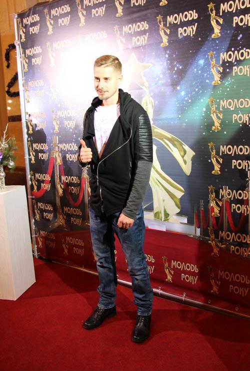 Євген Хоменко, переможець номінації «Кращий молодий учитель»