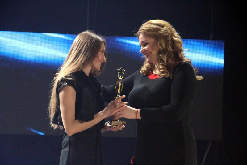 Олена Кулько, переможниця номінації «Кращий молодий працівник року в галузі культури»