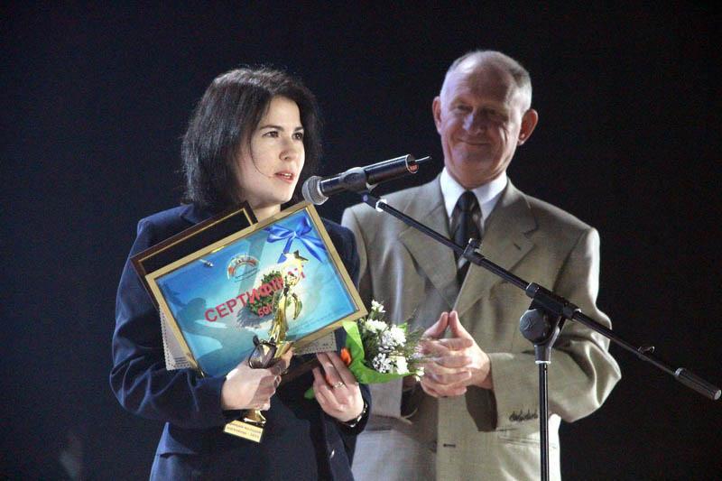 Молодий науковець року Тетяна Білоброва