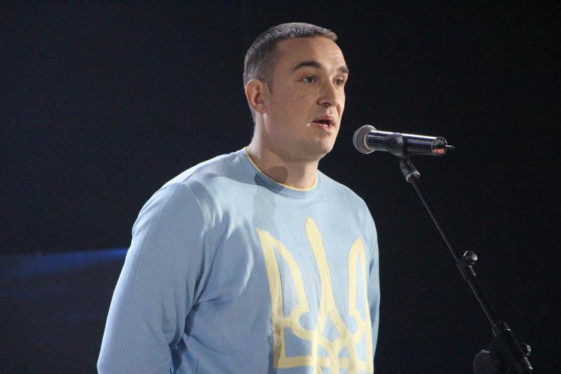 Майстер спорту України з волейболу сидячи Олександр Драпак