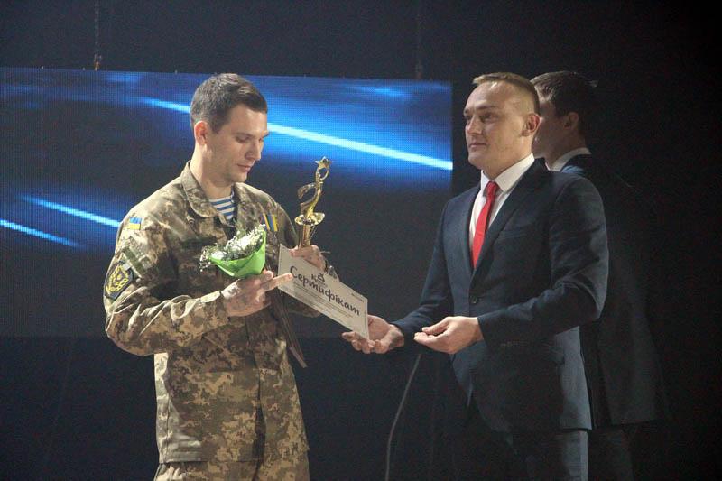 Микола Власенко, переможець номінації «Приклад відваги»