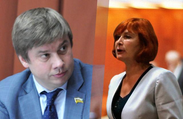 Олександр Біленький та Тетяна Жабо