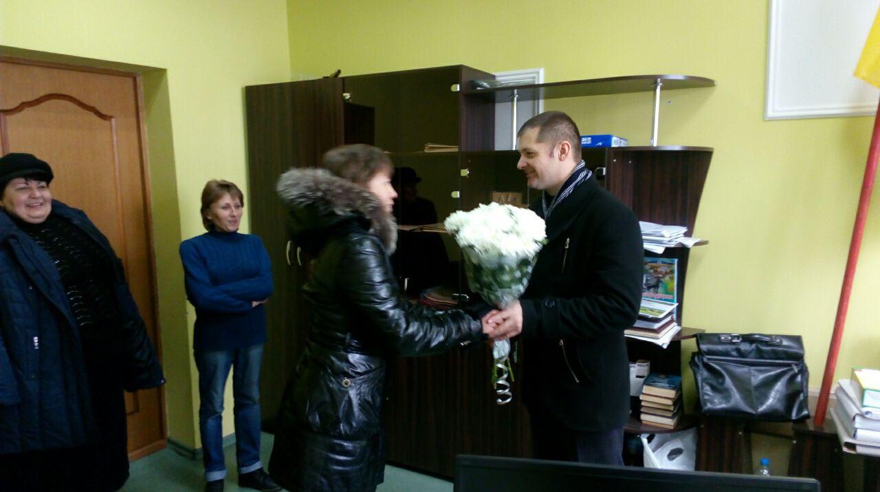 Вітання Павла Полєкова з перемогою від односельців