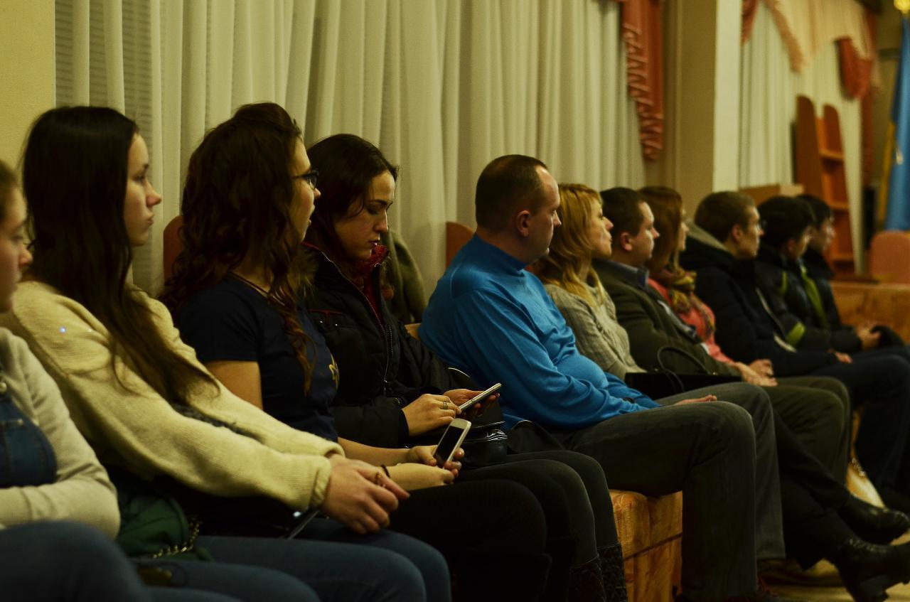 Частина аудиторії лекції