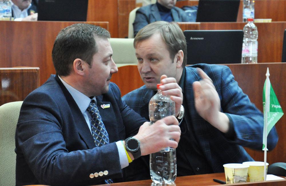 Руслан Богдан та Сергій Соловей