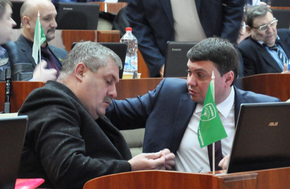 Іван Сидоренко та Андрій Пісоцький
