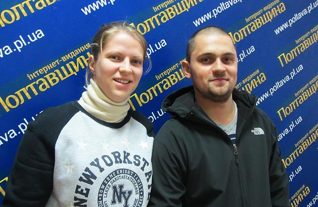 Зоя та Віталій Незвієцькі, яким Катерина Голбан винна 5500 доларів (Фото — Ян Пругло)