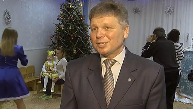 Директор Горбанівського геріатричного пансіонату Віктор Лебедєв