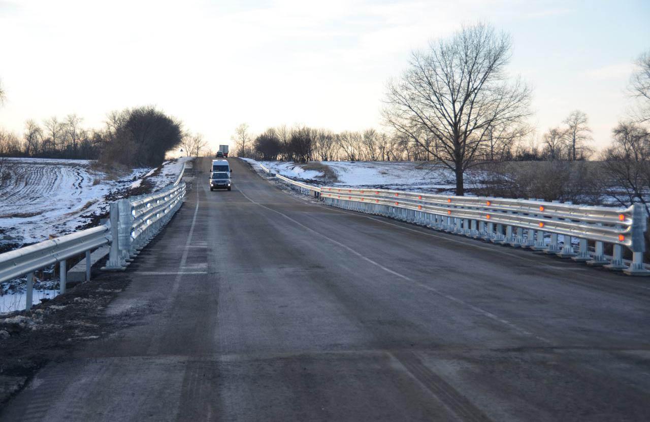 Міст поблизу Вишневого відкрито для руху транспорту