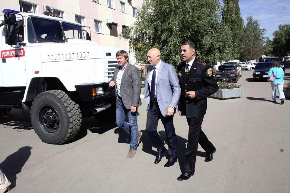 Олександр Біленький, Валерій Головко та Володимир Салогуб