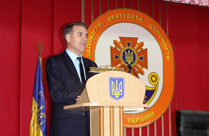Володимир Салогуб, начальник управління ДСНС у Полтавській області