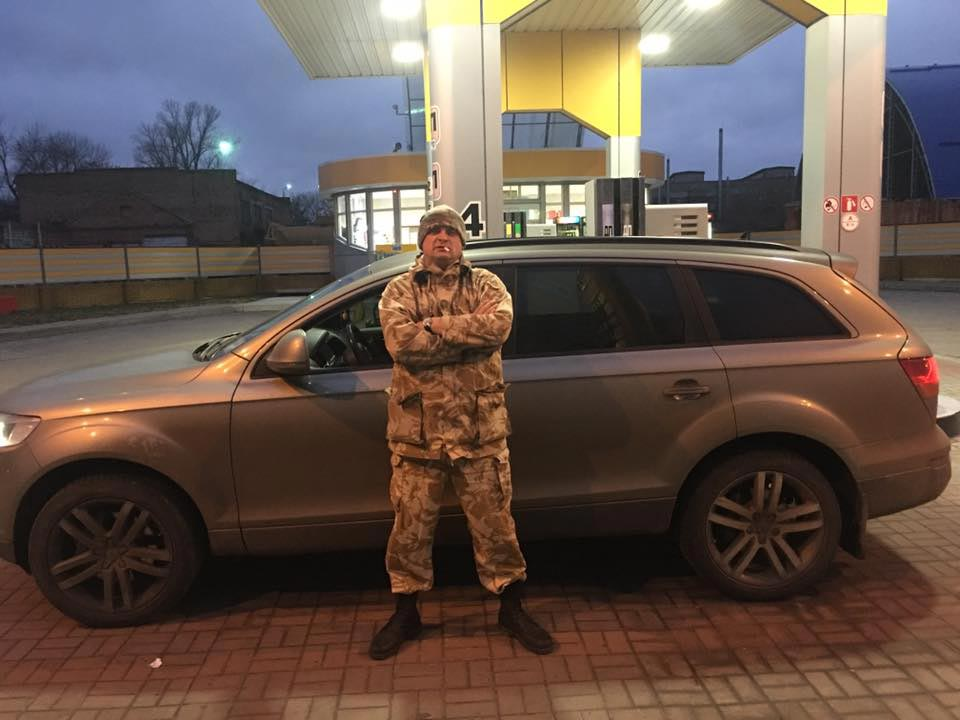Олександр Онопченко та Audi Q7