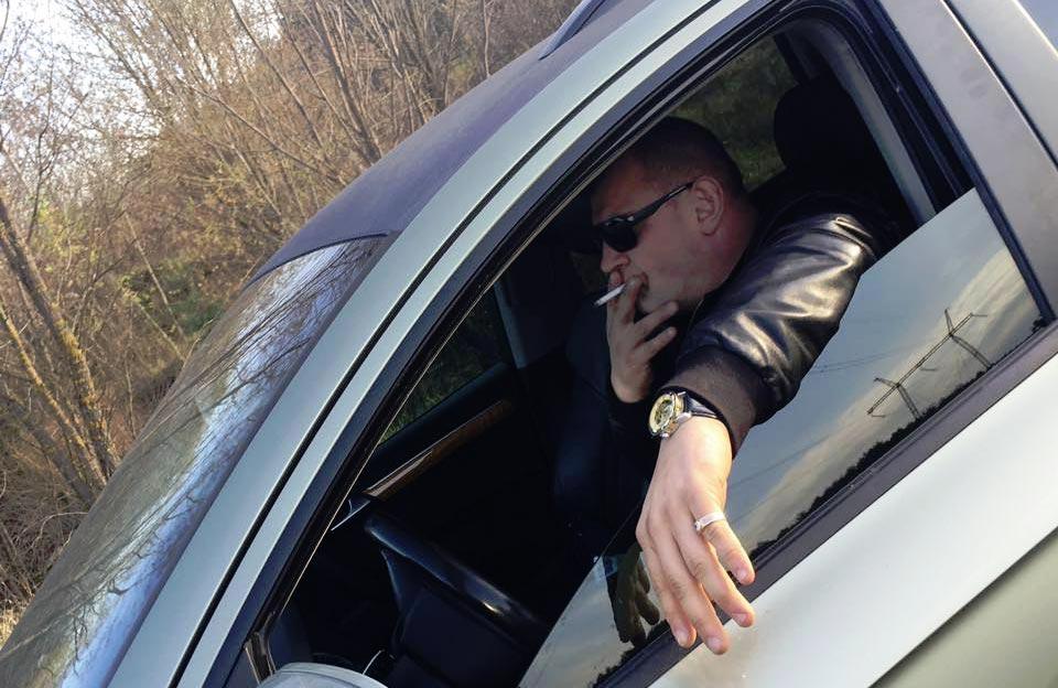 Олександр Онопченко за кермом Audi Q7