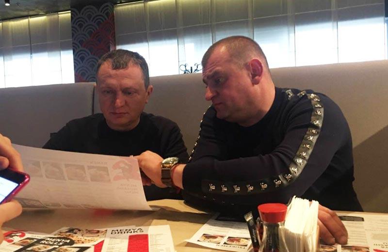 Сергій Гамалій та Олександр Онопченко