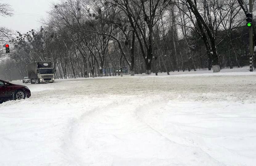 Траса Київ — Харків у межах Полтави