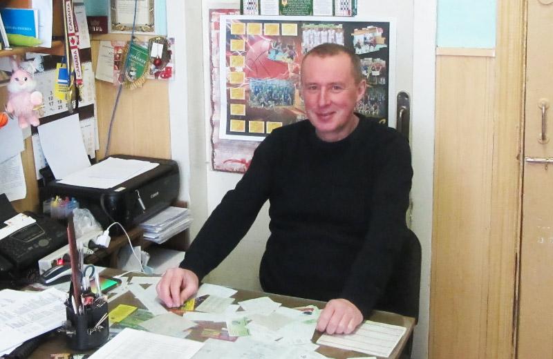 Сергій Ломан, голова Федерації баскетболу Полтавщини