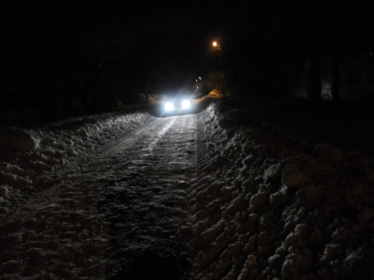 полтавская улица вчера вечером... типично...