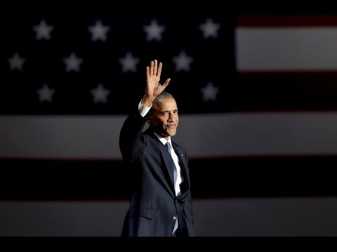 Watch President Barack Obama's full farewell speech