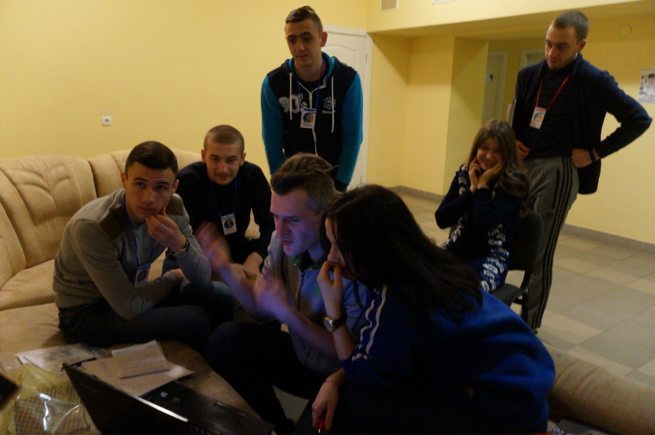 Робота в групах на Зимовій Студреспубліці