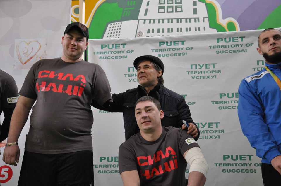 Перш ніж почати змагання— героїчних учасників представили публіці.