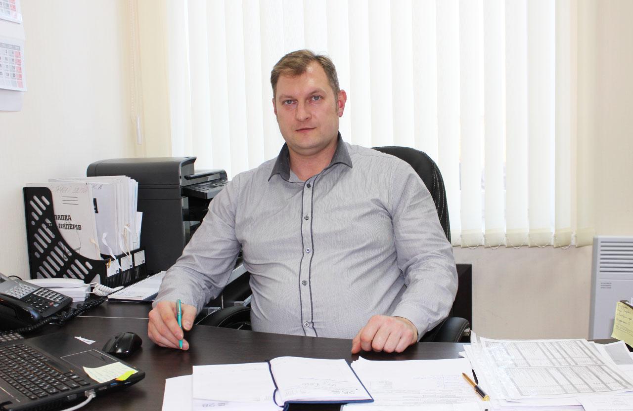 Євген Забишний, головний інженер «Полтававодоканалу»
