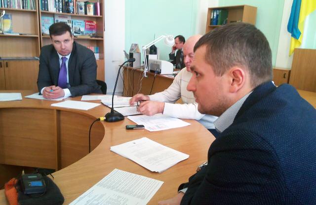 Олександр Шамота, Григорій Сахно та Олексій Чепурко