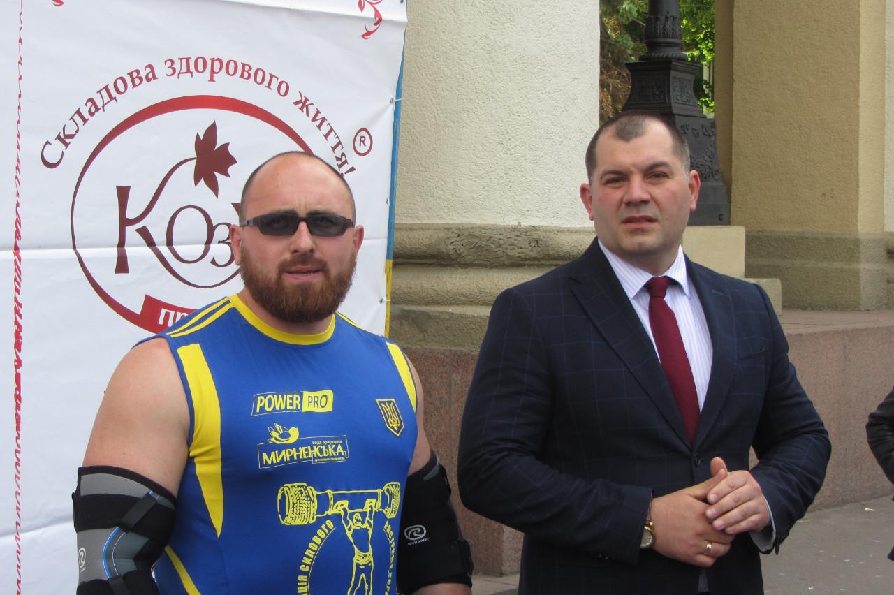 Валерій Газаєв та Олексій Матюшенко