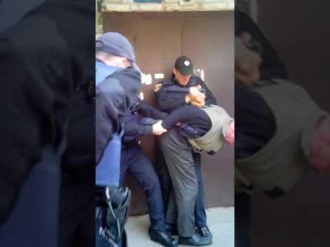 Полиция избиение пенсионера, беспредел Полтава, Мотель 01.10.2016