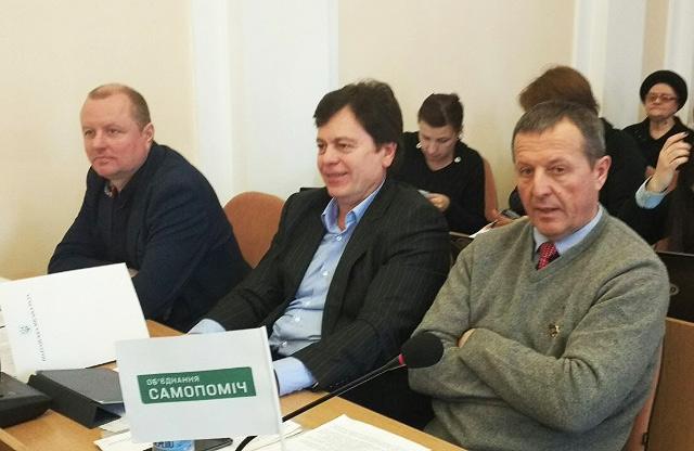 Олександр Пінчук, Андрій Соколов та Юрій Бойко