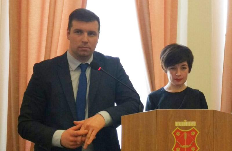Олександр Шамота та Тетяна Чумак