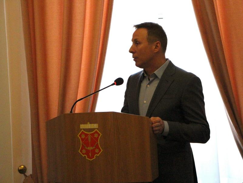 Андрій Матковський на сесії