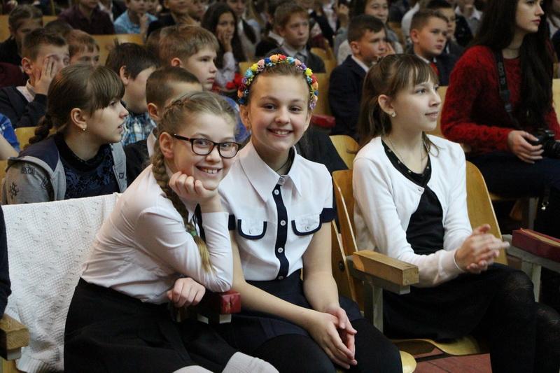 Школярі на концерті