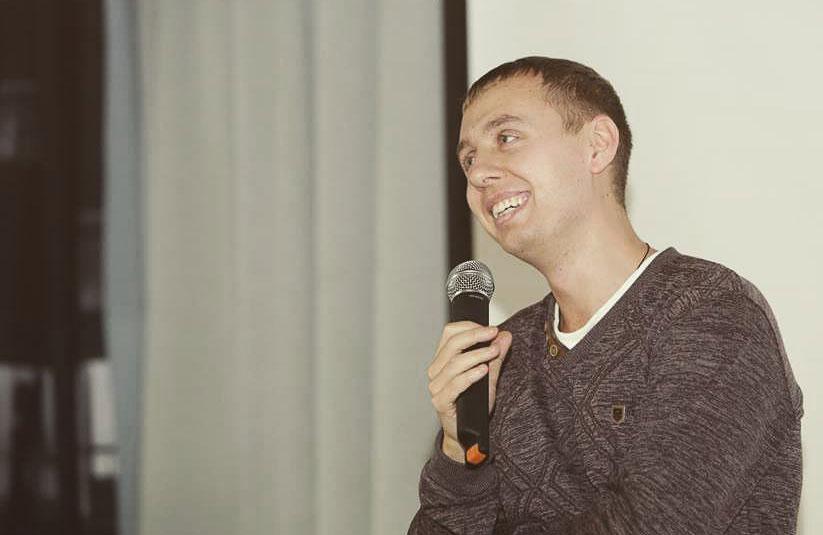 Ігор Ізотов, журналіст телеканалу «Лтава»