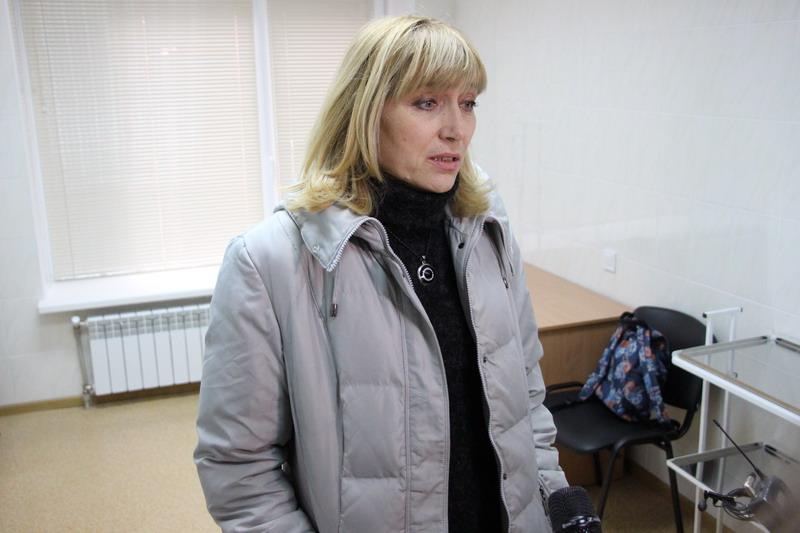 Лариса Безручко, мешканка мікрорайону