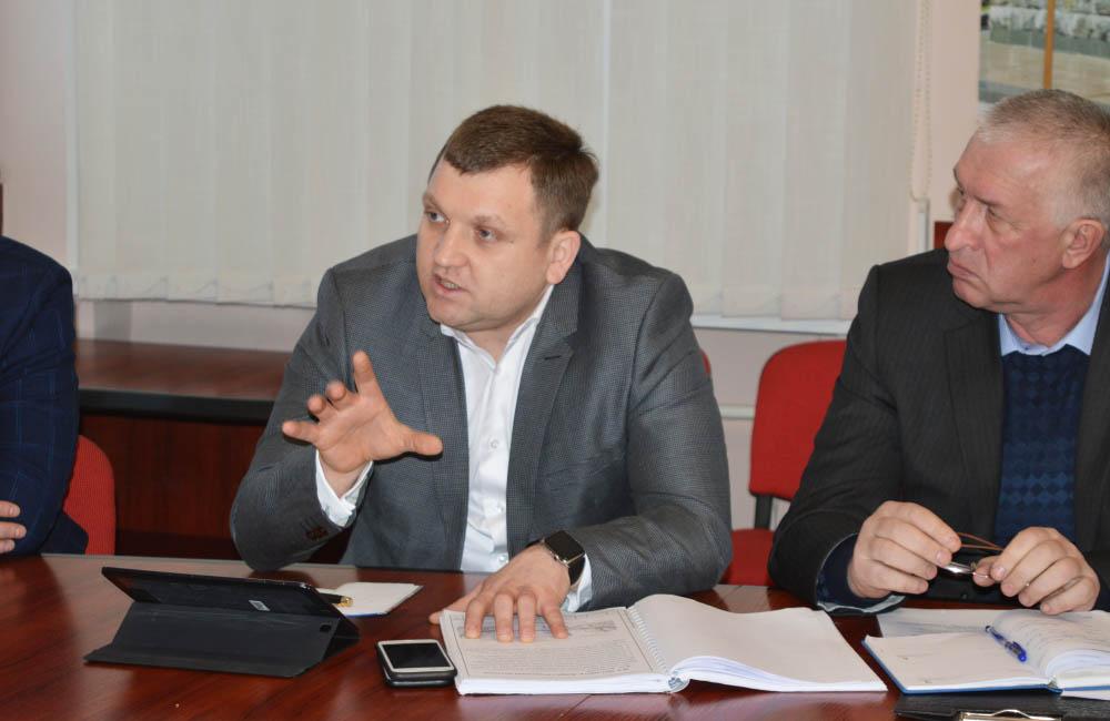 Начальник САД у Полтавській області Володимир Трояновський