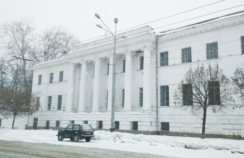 Історична будівля на вул. Соборності, 37 у Полтаві