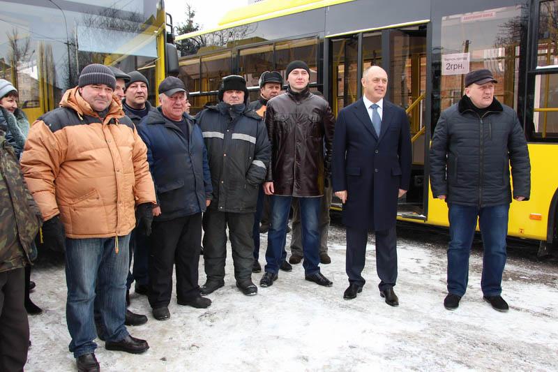 Олександр Мамай разом з колективом
