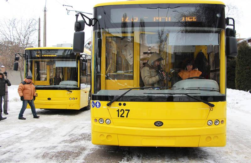 Нові тролейбуси готові до виїзду