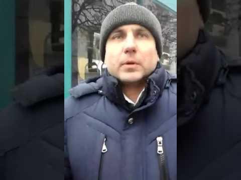 Суперечка Сергія Чередніченка з працівника транспортної інспекції (2017.02.07, Полтава)