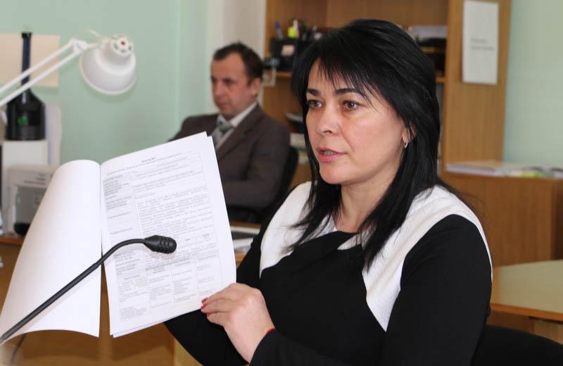 Секретар міської ради, голова робочої групи Оксана Деркач