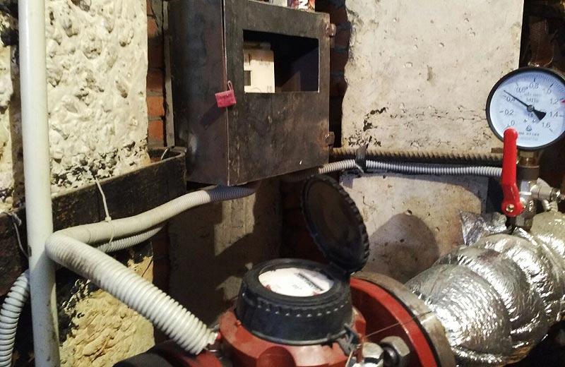 Загальнобудинковий лічильник теплової енергії