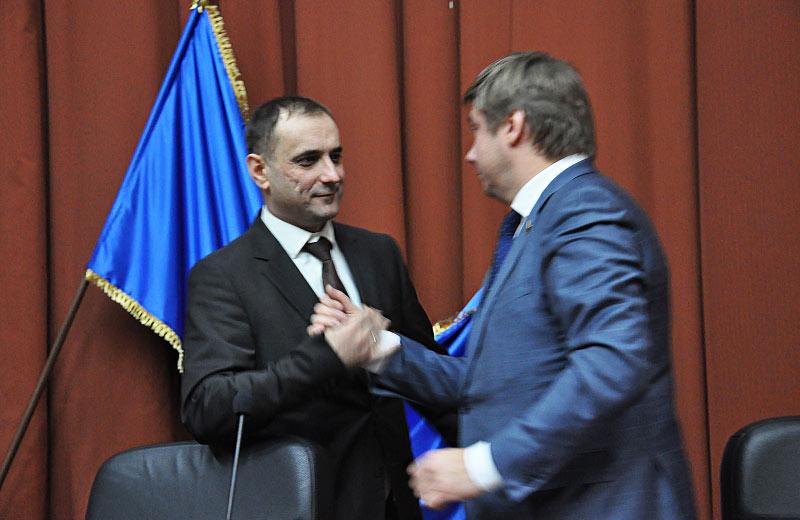 Валерій Прядко та Олександр Біленький