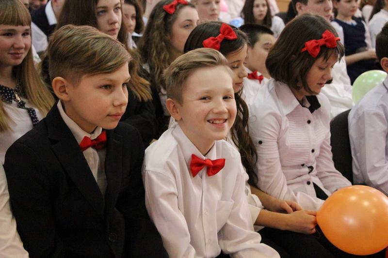 Глядачі на концерті у ЗОШ № 23