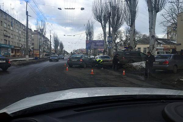 ДТП у Кременчуці на вул. Першотравневій