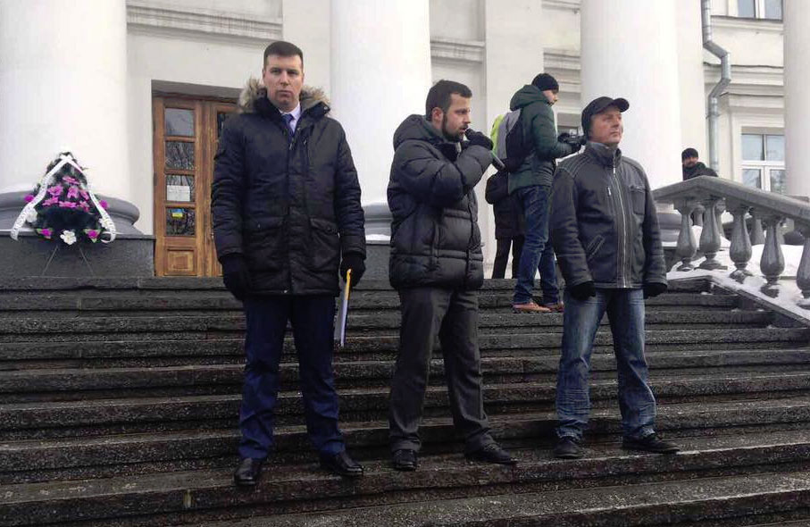 Олександр Шамота, Юліан Матвійчук та Юрій Бойко