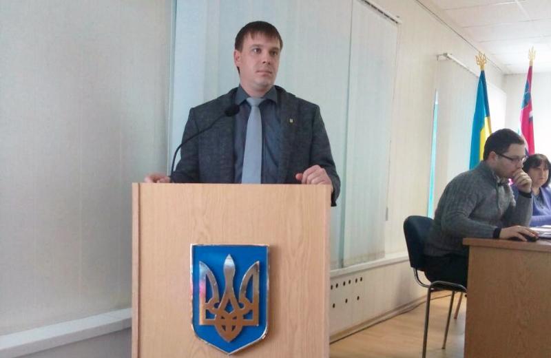 Євген Алєксєєв, голова фракції СДП в Лубенській міській раді
