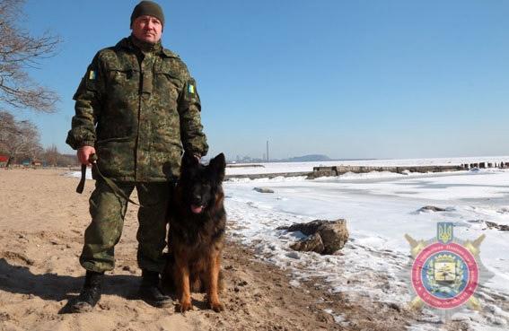 Назар Зубричев та вівчарка Туман